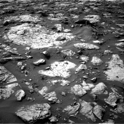 Nasa's Mars rover Curiosity acquired this image using its Right Navigation Camera on Sol 1446, at drive 1284, site number 57