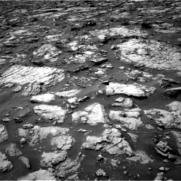 Nasa's Mars rover Curiosity acquired this image using its Right Navigation Camera on Sol 1446, at drive 1302, site number 57