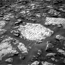 Nasa's Mars rover Curiosity acquired this image using its Right Navigation Camera on Sol 1446, at drive 1320, site number 57
