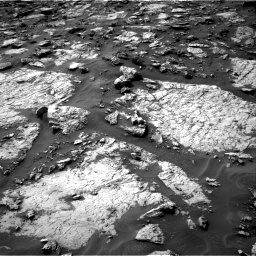 Nasa's Mars rover Curiosity acquired this image using its Right Navigation Camera on Sol 1446, at drive 1326, site number 57
