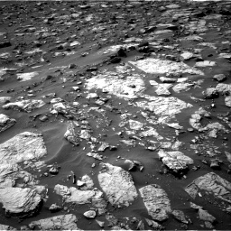 Nasa's Mars rover Curiosity acquired this image using its Right Navigation Camera on Sol 1446, at drive 1350, site number 57
