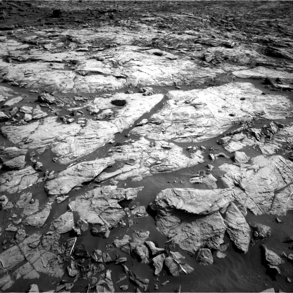 Nasa's Mars rover Curiosity acquired this image using its Right Navigation Camera on Sol 1446, at drive 1356, site number 57