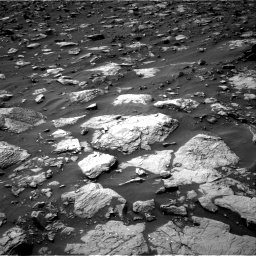 Nasa's Mars rover Curiosity acquired this image using its Right Navigation Camera on Sol 1446, at drive 1368, site number 57
