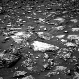 Nasa's Mars rover Curiosity acquired this image using its Right Navigation Camera on Sol 1446, at drive 1380, site number 57