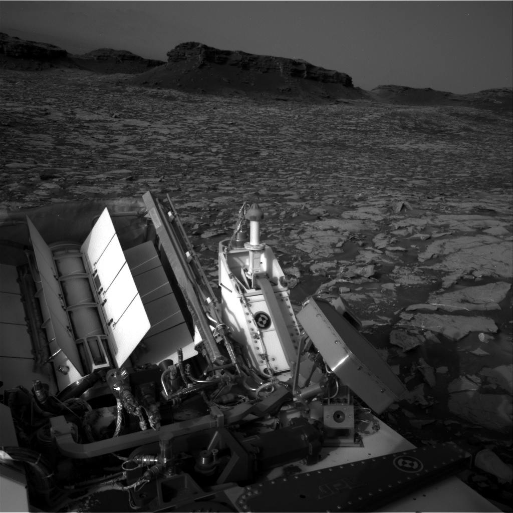 Nasa's Mars rover Curiosity acquired this image using its Right Navigation Camera on Sol 1446, at drive 1392, site number 57