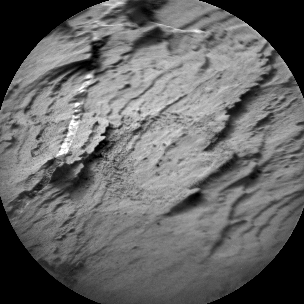 Nasa's Mars rover Curiosity acquired this image using its Chemistry & Camera (ChemCam) on Sol 1446, at drive 1392, site number 57