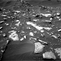 Nasa's Mars rover Curiosity acquired this image using its Left Navigation Camera on Sol 1448, at drive 1482, site number 57