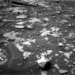 Nasa's Mars rover Curiosity acquired this image using its Left Navigation Camera on Sol 1448, at drive 1536, site number 57