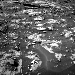 Nasa's Mars rover Curiosity acquired this image using its Left Navigation Camera on Sol 1448, at drive 1542, site number 57