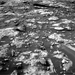 Nasa's Mars rover Curiosity acquired this image using its Left Navigation Camera on Sol 1448, at drive 1548, site number 57