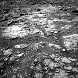 Nasa's Mars rover Curiosity acquired this image using its Left Navigation Camera on Sol 1448, at drive 1566, site number 57