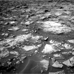 Nasa's Mars rover Curiosity acquired this image using its Left Navigation Camera on Sol 1448, at drive 1584, site number 57