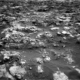 Nasa's Mars rover Curiosity acquired this image using its Left Navigation Camera on Sol 1448, at drive 1642, site number 57