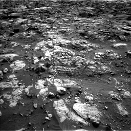 Nasa's Mars rover Curiosity acquired this image using its Left Navigation Camera on Sol 1448, at drive 1648, site number 57