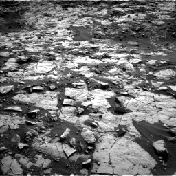 Nasa's Mars rover Curiosity acquired this image using its Left Navigation Camera on Sol 1448, at drive 1714, site number 57