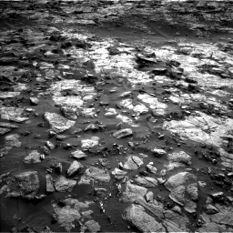 Nasa's Mars rover Curiosity acquired this image using its Left Navigation Camera on Sol 1448, at drive 1768, site number 57