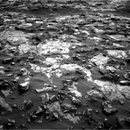 Nasa's Mars rover Curiosity acquired this image using its Left Navigation Camera on Sol 1448, at drive 1798, site number 57