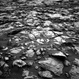 Nasa's Mars rover Curiosity acquired this image using its Left Navigation Camera on Sol 1448, at drive 1852, site number 57