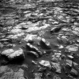 Nasa's Mars rover Curiosity acquired this image using its Left Navigation Camera on Sol 1448, at drive 1864, site number 57
