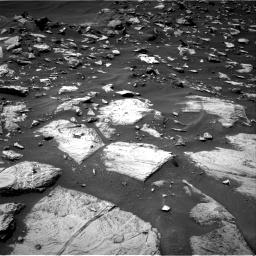 Nasa's Mars rover Curiosity acquired this image using its Right Navigation Camera on Sol 1448, at drive 1404, site number 57