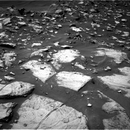Nasa's Mars rover Curiosity acquired this image using its Right Navigation Camera on Sol 1448, at drive 1410, site number 57