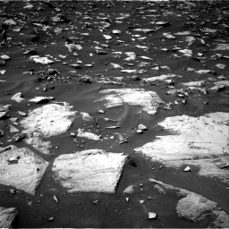 Nasa's Mars rover Curiosity acquired this image using its Right Navigation Camera on Sol 1448, at drive 1428, site number 57
