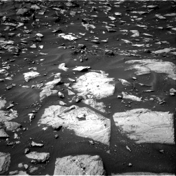 Nasa's Mars rover Curiosity acquired this image using its Right Navigation Camera on Sol 1448, at drive 1434, site number 57