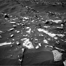 Nasa's Mars rover Curiosity acquired this image using its Right Navigation Camera on Sol 1448, at drive 1488, site number 57