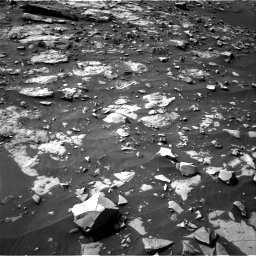 Nasa's Mars rover Curiosity acquired this image using its Right Navigation Camera on Sol 1448, at drive 1536, site number 57