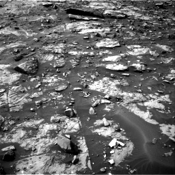 Nasa's Mars rover Curiosity acquired this image using its Right Navigation Camera on Sol 1448, at drive 1548, site number 57