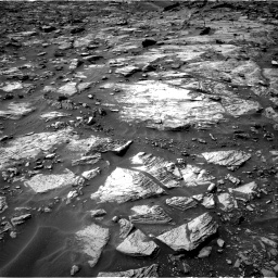 Nasa's Mars rover Curiosity acquired this image using its Right Navigation Camera on Sol 1448, at drive 1578, site number 57