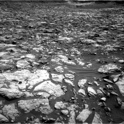Nasa's Mars rover Curiosity acquired this image using its Right Navigation Camera on Sol 1448, at drive 1584, site number 57