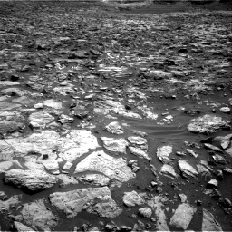Nasa's Mars rover Curiosity acquired this image using its Right Navigation Camera on Sol 1448, at drive 1590, site number 57