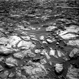 Nasa's Mars rover Curiosity acquired this image using its Right Navigation Camera on Sol 1448, at drive 1600, site number 57