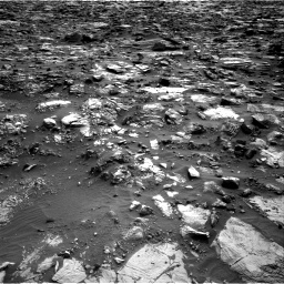 Nasa's Mars rover Curiosity acquired this image using its Right Navigation Camera on Sol 1448, at drive 1630, site number 57