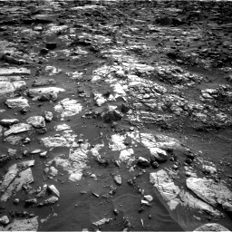 Nasa's Mars rover Curiosity acquired this image using its Right Navigation Camera on Sol 1448, at drive 1654, site number 57