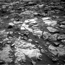 Nasa's Mars rover Curiosity acquired this image using its Right Navigation Camera on Sol 1448, at drive 1678, site number 57