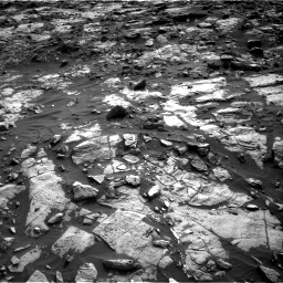 Nasa's Mars rover Curiosity acquired this image using its Right Navigation Camera on Sol 1448, at drive 1684, site number 57