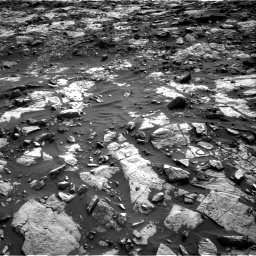 Nasa's Mars rover Curiosity acquired this image using its Right Navigation Camera on Sol 1448, at drive 1690, site number 57