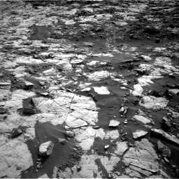 Nasa's Mars rover Curiosity acquired this image using its Right Navigation Camera on Sol 1448, at drive 1708, site number 57