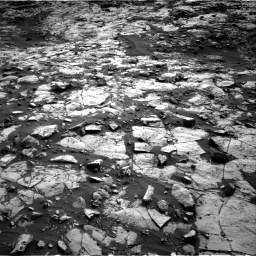 Nasa's Mars rover Curiosity acquired this image using its Right Navigation Camera on Sol 1448, at drive 1720, site number 57