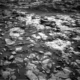 Nasa's Mars rover Curiosity acquired this image using its Right Navigation Camera on Sol 1448, at drive 1768, site number 57