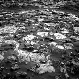 Nasa's Mars rover Curiosity acquired this image using its Right Navigation Camera on Sol 1448, at drive 1792, site number 57