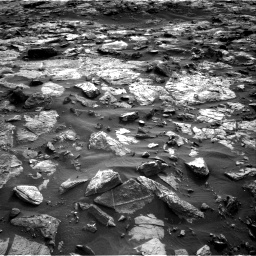 Nasa's Mars rover Curiosity acquired this image using its Right Navigation Camera on Sol 1448, at drive 1810, site number 57