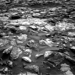Nasa's Mars rover Curiosity acquired this image using its Right Navigation Camera on Sol 1448, at drive 1816, site number 57