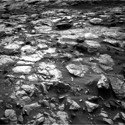 Nasa's Mars rover Curiosity acquired this image using its Right Navigation Camera on Sol 1448, at drive 1828, site number 57