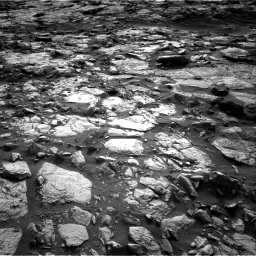 Nasa's Mars rover Curiosity acquired this image using its Right Navigation Camera on Sol 1448, at drive 1834, site number 57