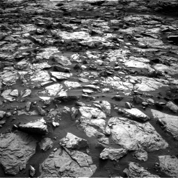 Nasa's Mars rover Curiosity acquired this image using its Right Navigation Camera on Sol 1448, at drive 1846, site number 57