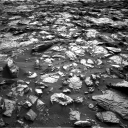 Nasa's Mars rover Curiosity acquired this image using its Right Navigation Camera on Sol 1448, at drive 1858, site number 57