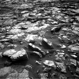 Nasa's Mars rover Curiosity acquired this image using its Right Navigation Camera on Sol 1448, at drive 1870, site number 57